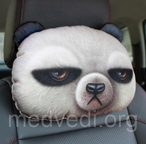 Подголовник подушка панда для авто