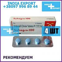 VIAGRA SUHAGRA 100 мг   Sildenafil - таблетки для потенции и эрекции