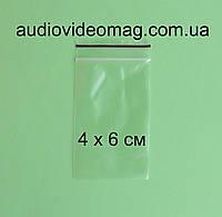 Зип-пакет со струнным замком Zip-lock, размер 4 х 6 см, упаковка 100 шт.