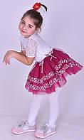 Пышная юбка пачка фатин для девочки слива