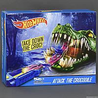 Детский трекHot Wheel с крокодилом - Атака Крокодила (игровой автотрек Хот Вил) 2698