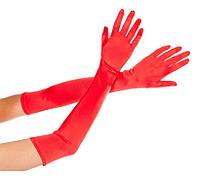 Атласные длинные перчатки сделают Ваши ручки изящными и утонченными