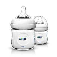 Бутылочка для кормления Natural AVENT 2х125мл SCF690/27