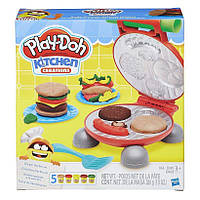 """Набор Плей До """"Бургер"""" (Play-Doh Burger Barbecue Playset), hasbro"""