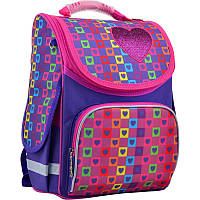 "Рюкзак каркасный 553324 Smart RG-11 ""Rainbow"" 34*26*14 см."