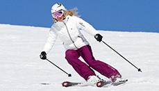 Женские горные лыжи