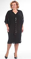 Платье большого размера Pretty-637/1 белорусский трикотаж
