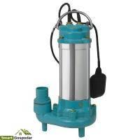 Насос канализационный  Aquatica 1.1кВт Hmax 15.5м Qmax 300л/мин с ножом (нерж) (773433)