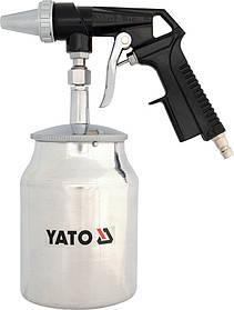 Пескоструйний пистолет с бачком, YT-2376 YATO