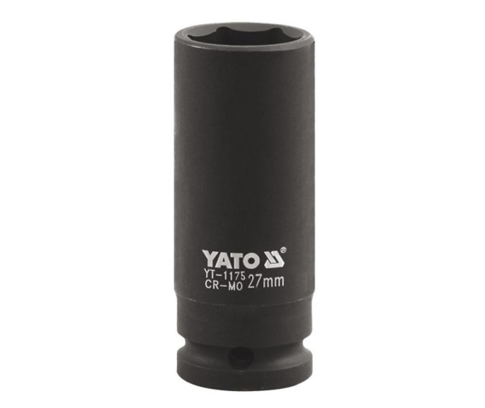 """Головка ударнаяя 1""""x30мм, YT-1176 YATO"""