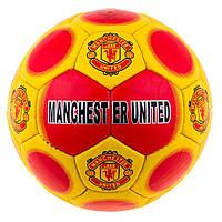 М'яч футбольний SemiDull (5сл) YW Manchester