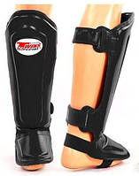 Защита голени и стопы для тайского бокса TWINS SPECIAL SGL-10-RD(Тайланд)