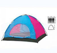 Палатка четырехместная однослойная