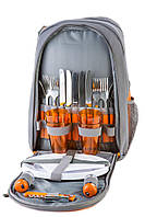 Рюкзак для пикника Green Camp на 4 персоны(р-р  42x31x21 см), фото 1