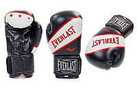 Перчатки боксерские Everlast р-р 12oz, черный