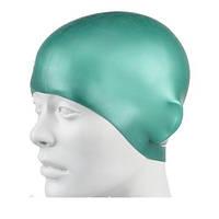 Шапочка для плавания детская Speedo Plain Mouldede Silicone Cap, фото 1