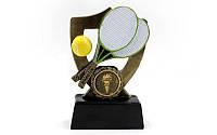 Статуэтка (фигурка) наградная спортивная Большой теннис, фото 1