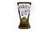 Статуэтка (фигурка) наградная спортивная Колода карт, фото 1