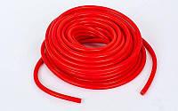 Жгут эластичный трубчатый спортивный PS (латекс, d-2,0 x 8,5мм, l-1500см, красный)