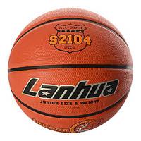 М'яч баскетбольний гумовий №5 LANHUA S2104 Super soft Indoor