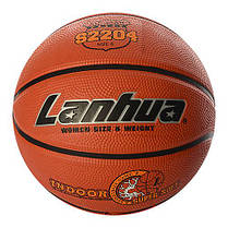 М'яч баскетбольний гумовий №6 Lanhua S2204 Super soft Indoor