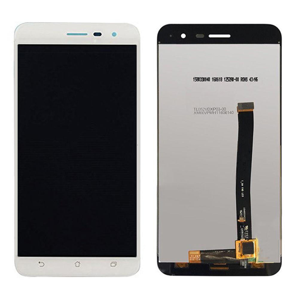 Дисплей (экран) для Asus ZenFone 3 (ZE520KL) с сенсором (тачскрином) белый