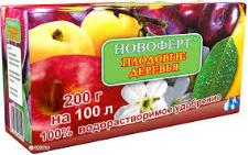 Удобрение Новоферт Плодовые деревья 200 г