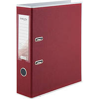 Папка-регистратор А4, ширина 75 мм, вишневый, BiColor, Delta by Axent, D1716-37C, 36476