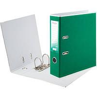 Папка-регистратор А4, ширина 75 мм, зеленый, BiColor, Delta by Axent, D1716-04C, 36470