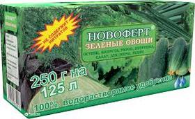 Удобрение Новоферт Зеленые овощи 250 г