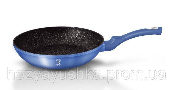 Сковорода Berlinger Haus Metallic Line Royal Blue Edition BH-1647 N - Ø24 см