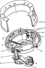 Тормозная система трактора Т150