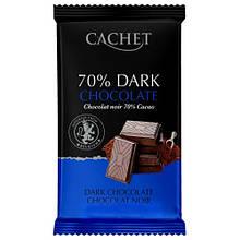 Шоколад Cachet Extra черный 70% какао 300 г
