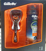 Станок GILLETTE FUSION PROGLIDE MANUAL RAZOR FLEXBALL TECHNOLOGY, + гель для бритья СПЕЦЦЕНА