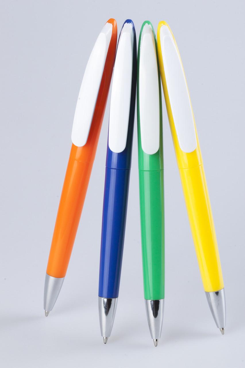 Ручка пластиковая Geneva, под нанесение логотипа, 6 цветов