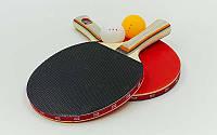 Набор для настольного тенниса 2 ракетки, 2 мяча Boli prince