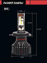 Светодиодные лампы H4 LED Т8 , фото 2