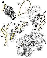 Ремень вентилятора и генератора  CNH