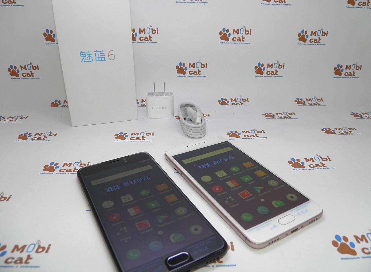 Бюджетный смартфон Meizu M6