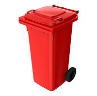 Урна для мусора 120 литров iPlast Красный