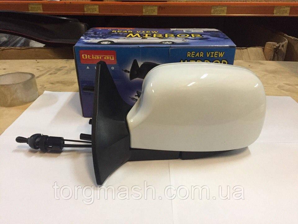Зеркала заднего вида боковое ВАЗ 2109 цвет белый, черный