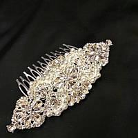 Гребень для волос декоративный (для украшения свадебной, вечерней прически)