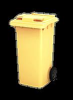 Баки для вывоза мусора 240 л iPlast Желтый