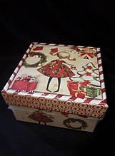 Тематична коробка(новий рік)
