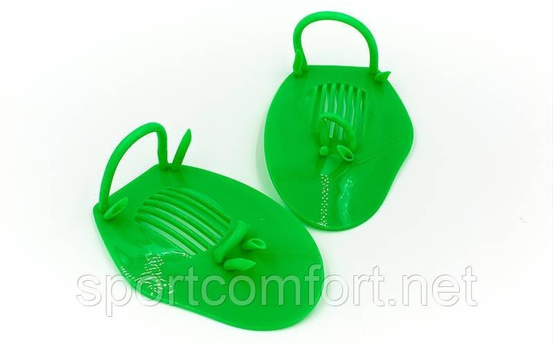 Лопатки для плавания Zelart