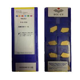 Пластина ZCC-CT ZQMX3N11-1E YBC251