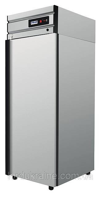Холодильный шкаф CM 107-G Polair (нержавейка)