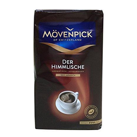 Кава зерно Movenpick Der Himmlische 500 гр, Мовенпик Дирхем Лиш кава зерно 0,5 кг