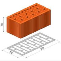 Керамический блок ТеплоКерам 2,12 NF М150