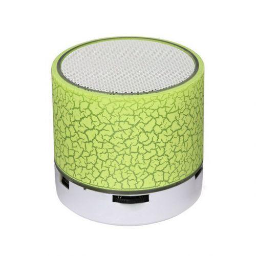 Портативная Bluetooth колонка с подсветкой SPS B1 BT Green